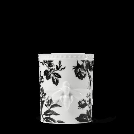 Inventum饰腊叶印花和蜜蜂中号蜡烛