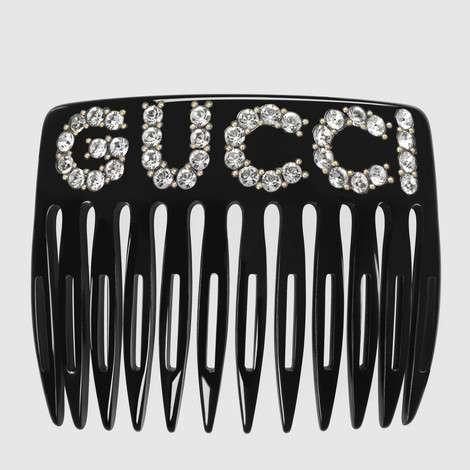 水晶Gucci图案发梳