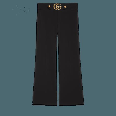 双G弹力粘纤长裤