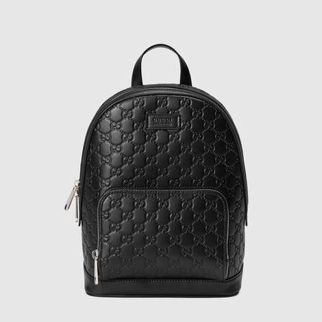 Gucci Signature皮革背包