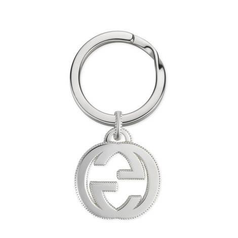 Interlocking G纯银钥匙链