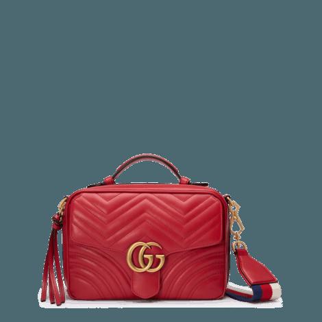 GG Marmont系列绗缝肩背包