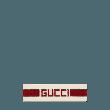 弹性Gucci条纹发带