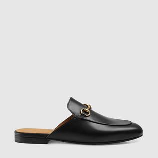 Princetown皮革拖鞋