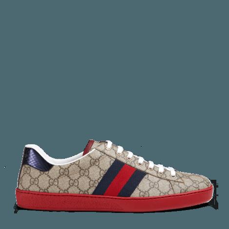 Ace系列高级人造帆布运动鞋