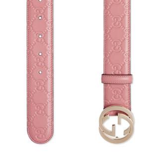 Interlocking G 带扣 Gucci Signagure腰带