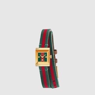 G-Frame 小号双缠绕表带织带腕表
