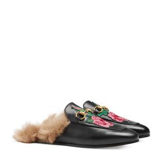 Princetown刺绣拖鞋