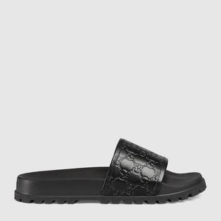 Gucci Signature凉鞋