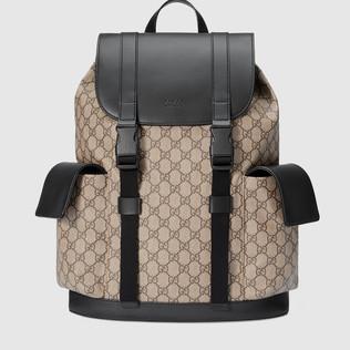 柔软GG高级人造革背包