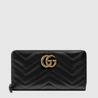 GG Marmont全拉链条皮夹