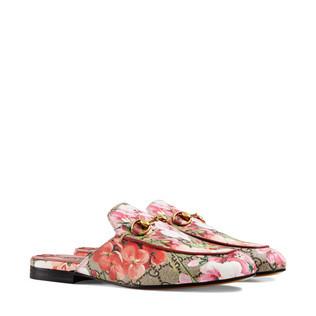 PrincetownGG Blooms天竺葵印花拖鞋