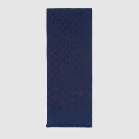 GG提花羊绒围巾