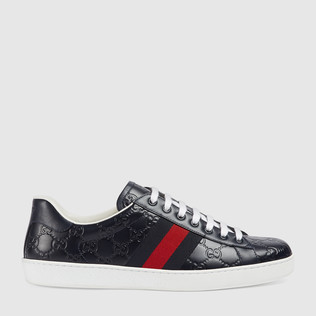 Ace GUCCI Signature运动鞋