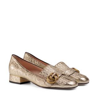 金属质感皮鞋