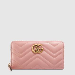 GG Marmont全拉链式皮夹