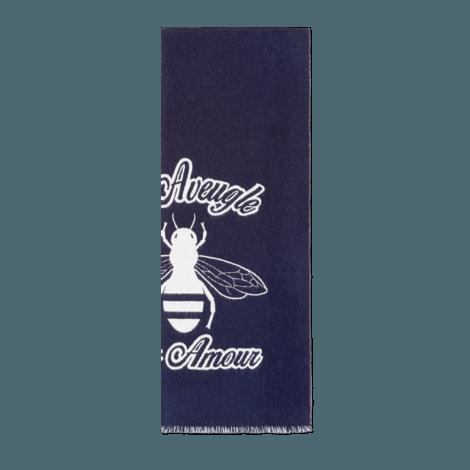 蜜蜂提花羊毛围巾
