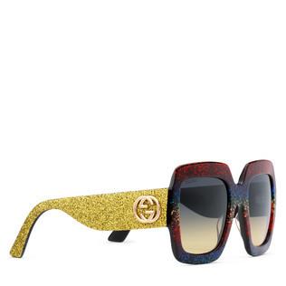 超大号方形镜架醋纤太阳眼镜
