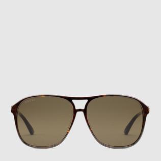 超贴合飞行员醋纤太阳眼镜