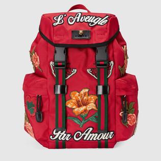 刺绣Techpack双肩背包