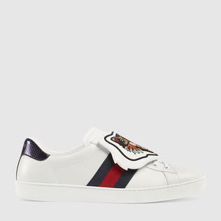 Ace 运动鞋带有可拆卸贴饰