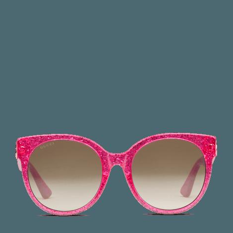 贴合设计圆框太阳眼镜