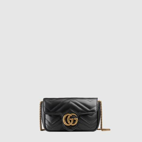 GG Marmont绗缝真皮超迷你手袋