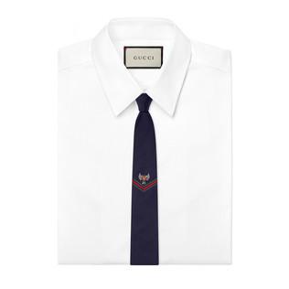 刺绣真丝领带