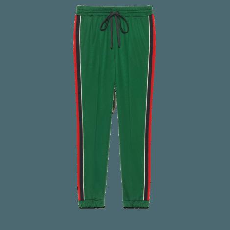 高科技针织面料慢跑运动裤