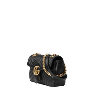 GG Marmont绗缝肩背包