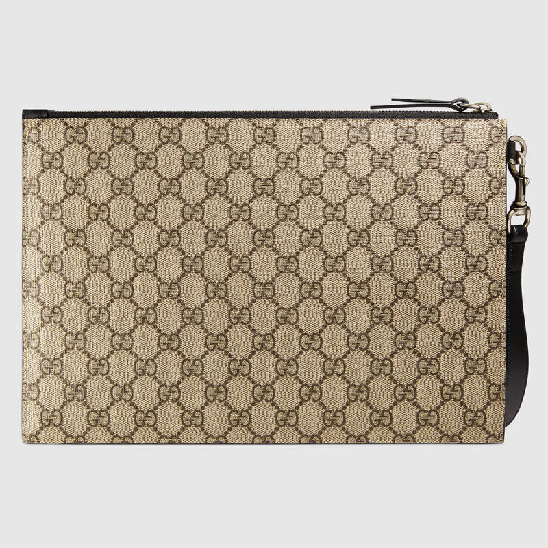 1492796a1fe Gucci Blind For Love Bee Gg Supreme Pouch