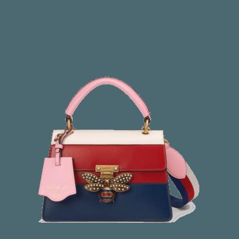 Queen Margaret 系列皮革手提包