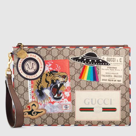 Gucci Courrier系列手拿包