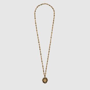 珍珠狮头项链