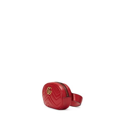GG Marmont系列绗缝皮革腰包