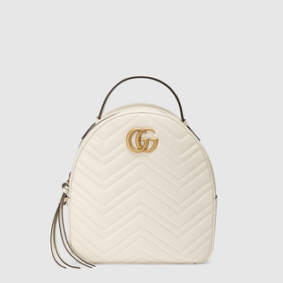 GG Marmont绗缝真皮背包