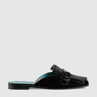 Marmont漆皮拖鞋
