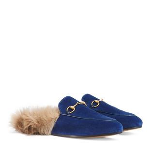 Princetown天鹅绒拖鞋