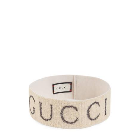 Gucci标志图案弹性发带