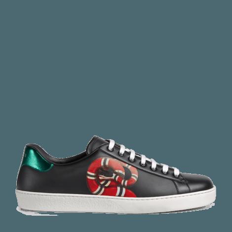 Ace系列珊瑚蛇印花运动鞋