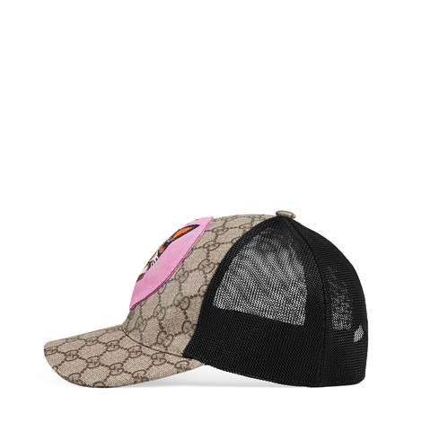 饰波士顿梗犬Bosco高级人造帆布棒球帽