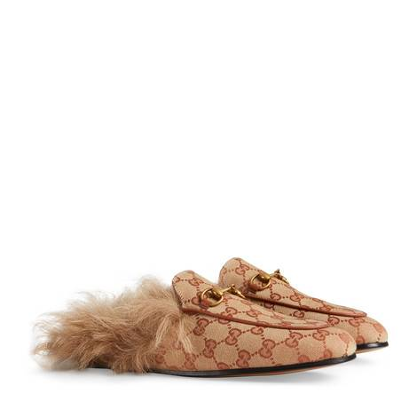 Princetown系列GG帆布拖鞋