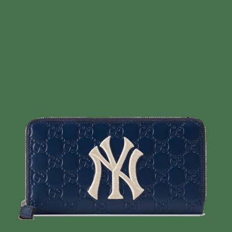 NY Yankees™贴饰全拉链钱包