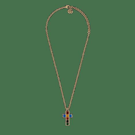 小十字架造型项链