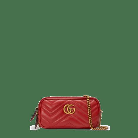 GG Marmont系列迷你链条手袋