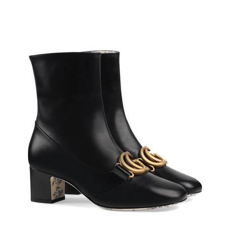 双G皮革及踝靴