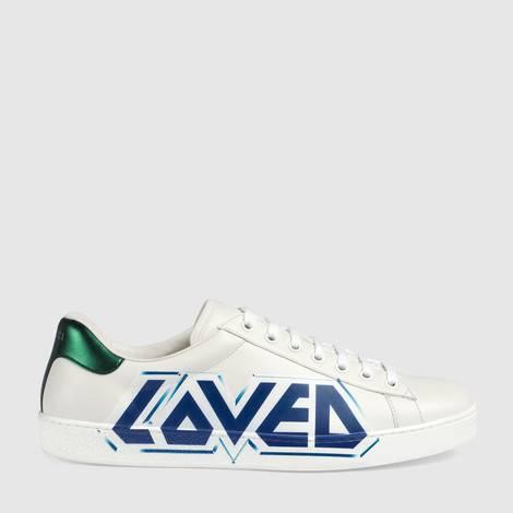 Ace系列男士Loved印花运动鞋