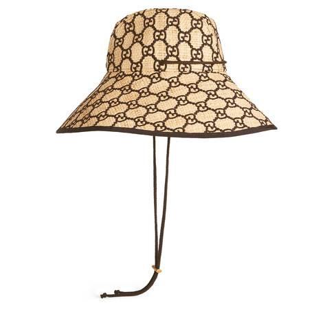 GG酒椰纤维宽边帽
