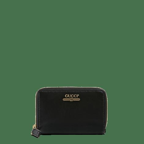 饰Gucci标识拉链卡包