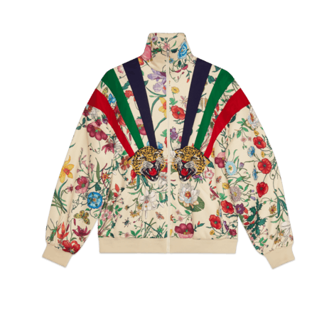 贴花平纹针织夹克